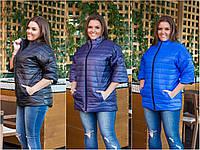 Куртка женская рукав 3/4 мод. 317 ХЛ+, фото 1