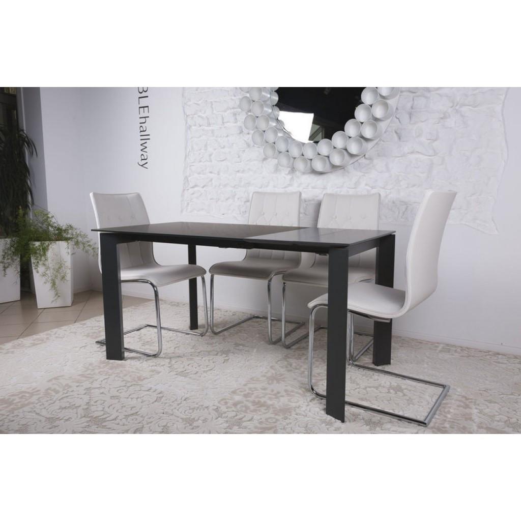Bristol S (Бристоль) стол раскладной 100-150 см графит