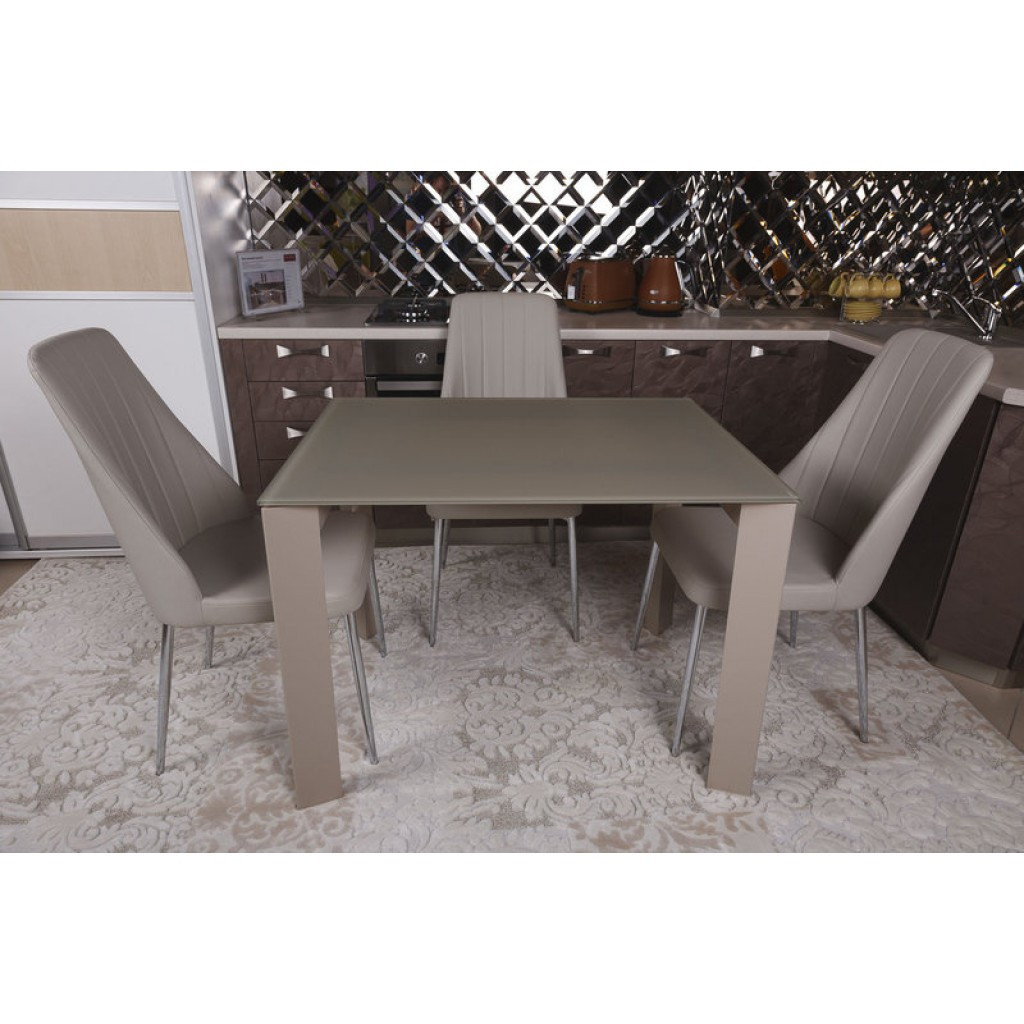 Bristol B (Бристоль) стол раскладной 130-200 см мокко