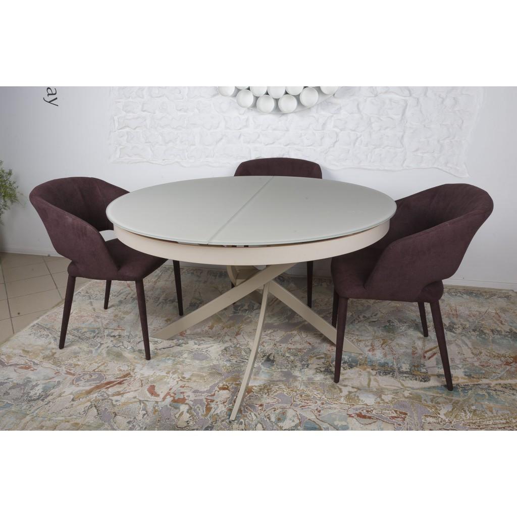 Cambridge (Кембридж) стол раскладной 125-175 см капучино