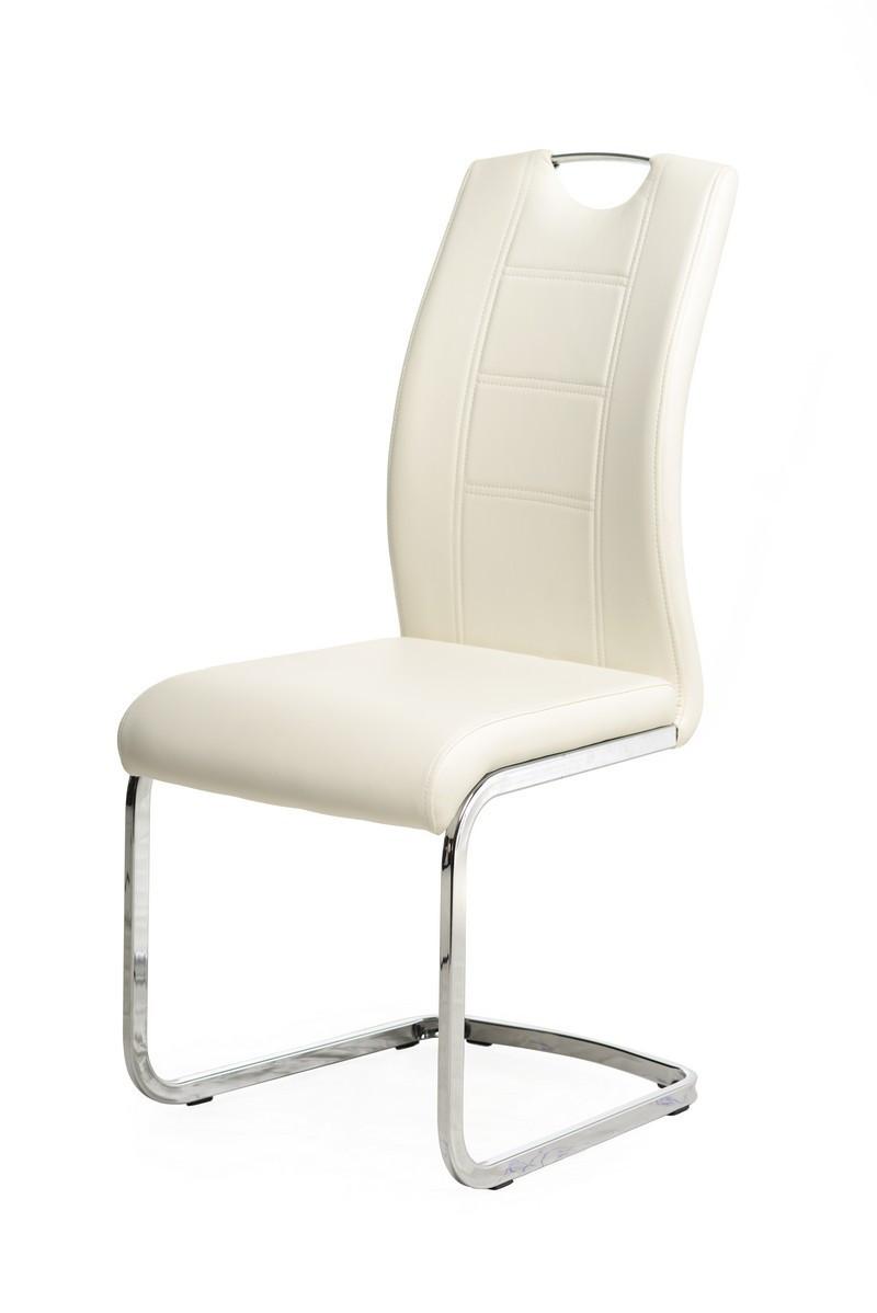Casey (Кейси) стул кожзам белый