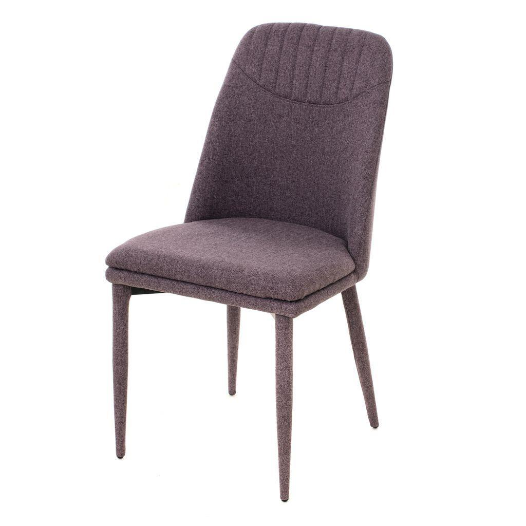Clara (Клара) стул мягкий текстиль лиловый