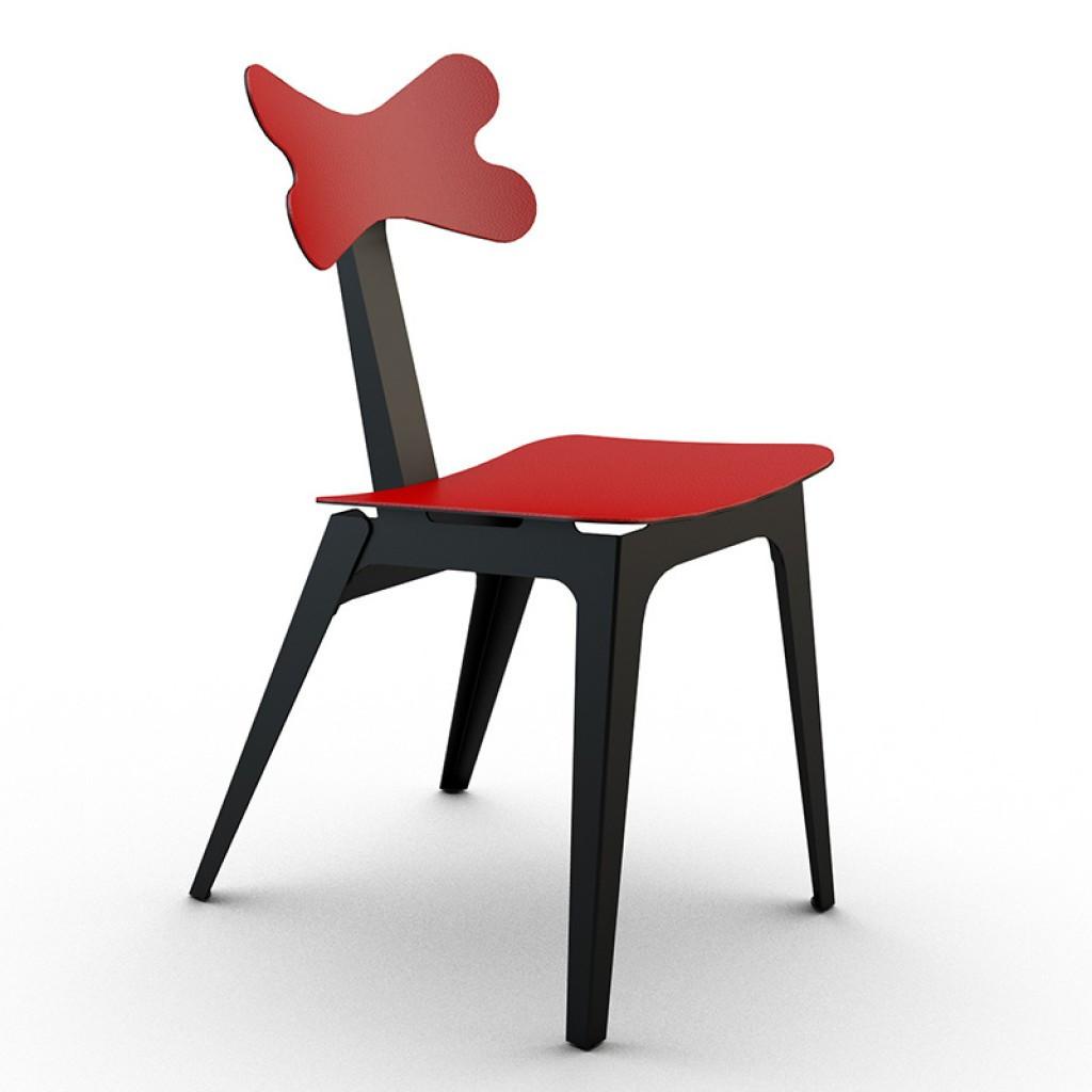 Cirrina Red Leather (Циррина Рэд Лэзэр) стул