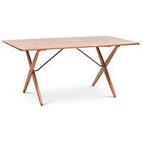 Cross Legged (Кросс Легд) обеденный стол светлое дерево, фото 1