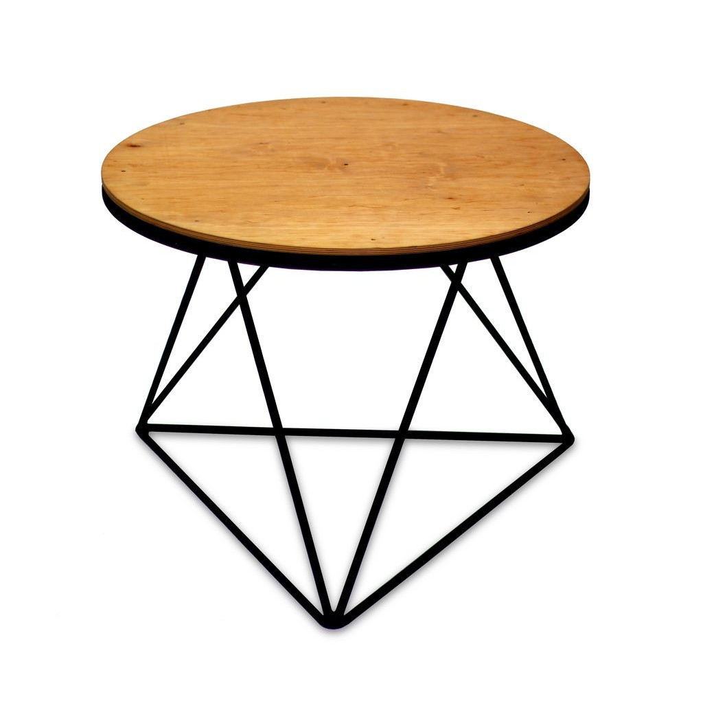 Crystal (Кристалл) стол кофейный круглый