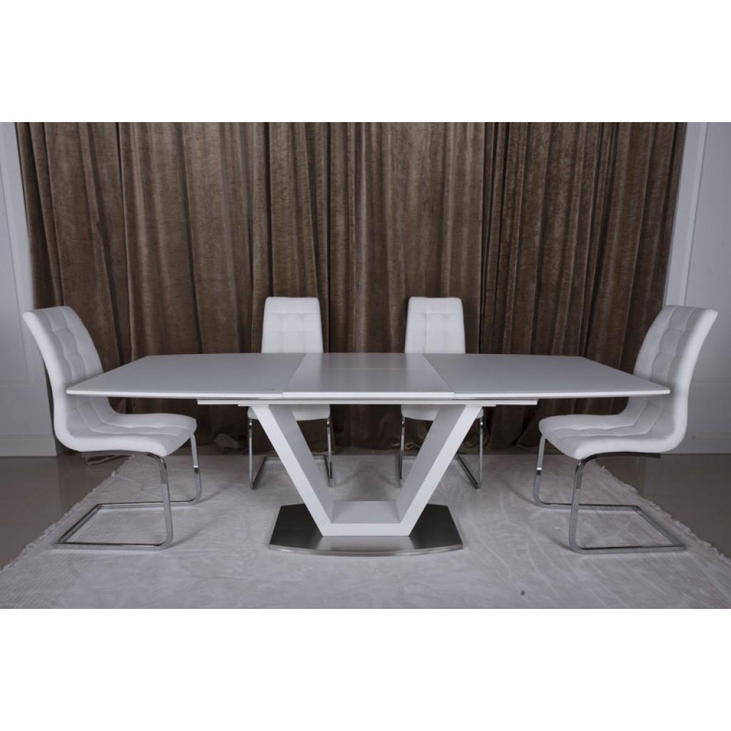 Detroit (Детройт) стол раскладной 160-220 см белый