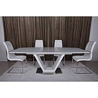 Detroit (Детройт) стол раскладной 160-220 см белый, фото 1