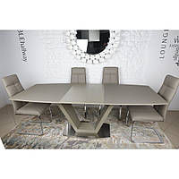 Detroit (Детройт) стол раскладной 160-220 см мокко, фото 1