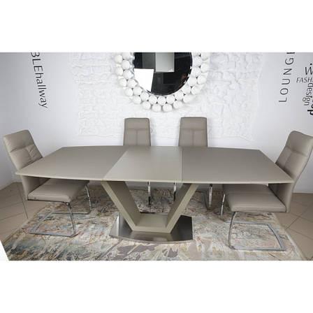 Detroit (Детройт) стол раскладной 160-220 см мокко, фото 2