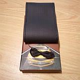 Оплетка-чехол на автомобильный руль из эко-кожи черная 38 см, фото 3