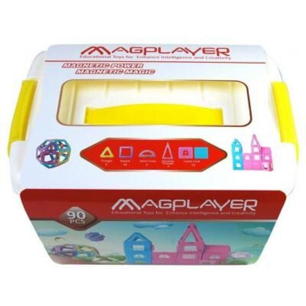 Конструктор Magplayer магнитный набор бокс 90 эл. (MPT2-90)