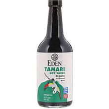"""Соевый соус Тамари NOW Foods, Eden Foods """"Tamari Soy Sauce"""" безглютеновый (592 мл)"""
