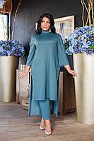 Костюм женский стильный  брючный в расцветках  51099, фото 1