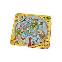Настольная игра Goki Магнитный лабиринт. Остров (53818G)