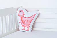 Детская мягкая подушка «Дино Тиранозавр», фото 1