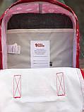 Рюкзак Fjallraven Kanken Classic (red), рюкзак Канкен, червоний портфель канкен, фото 5