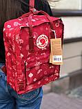Рюкзак Fjallraven Kanken Classic (red), рюкзак Канкен, червоний портфель канкен, фото 3