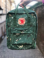 Рюкзак Fjallraven Kanken Classic, рюкзак Канкен, портфель канкен хаки
