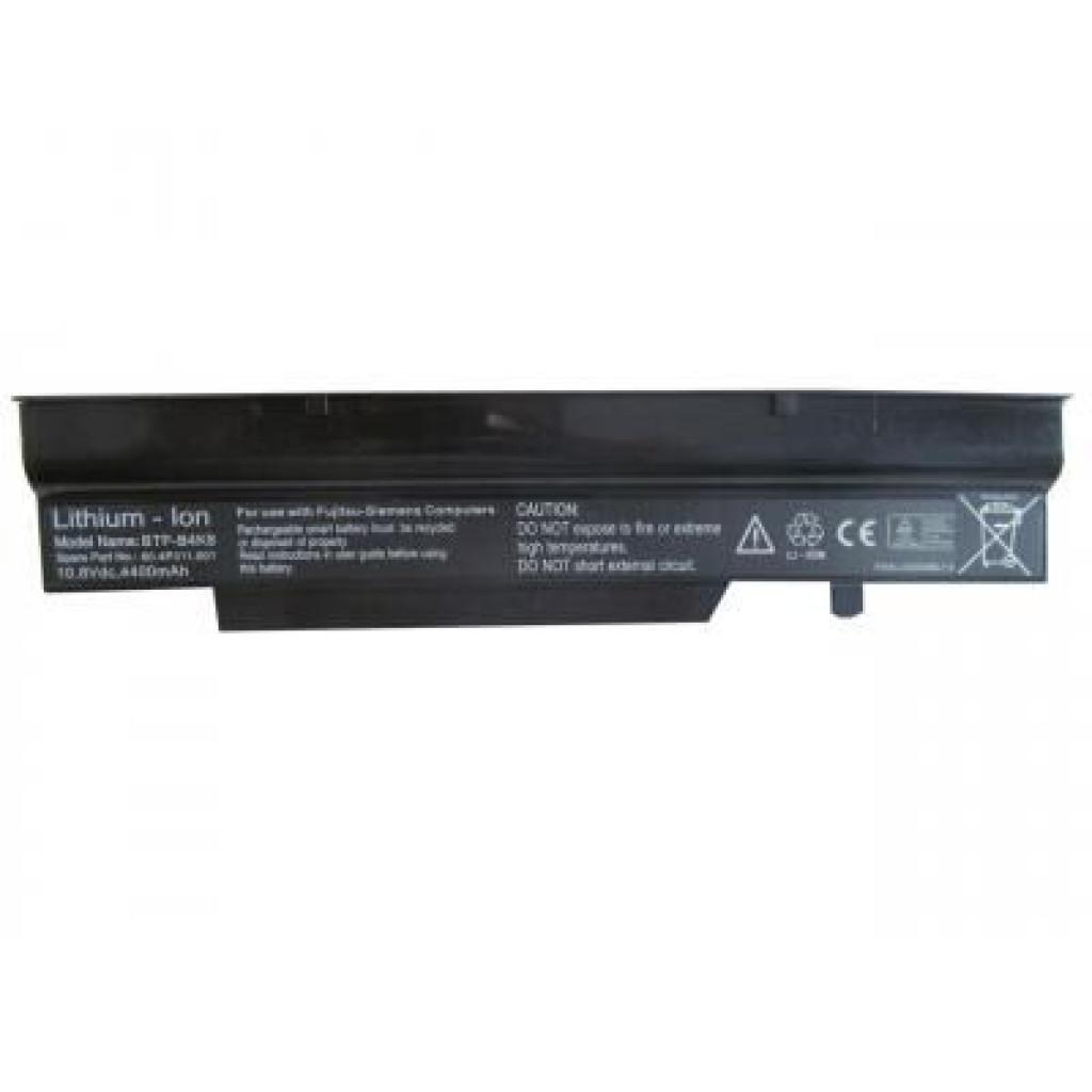 Аккумулятор для ноутбука Fujitsu Fujitsu Amilo V3405 BTP-BAK8 4400mAh 6cell 11.1V Li-ion (A41958)