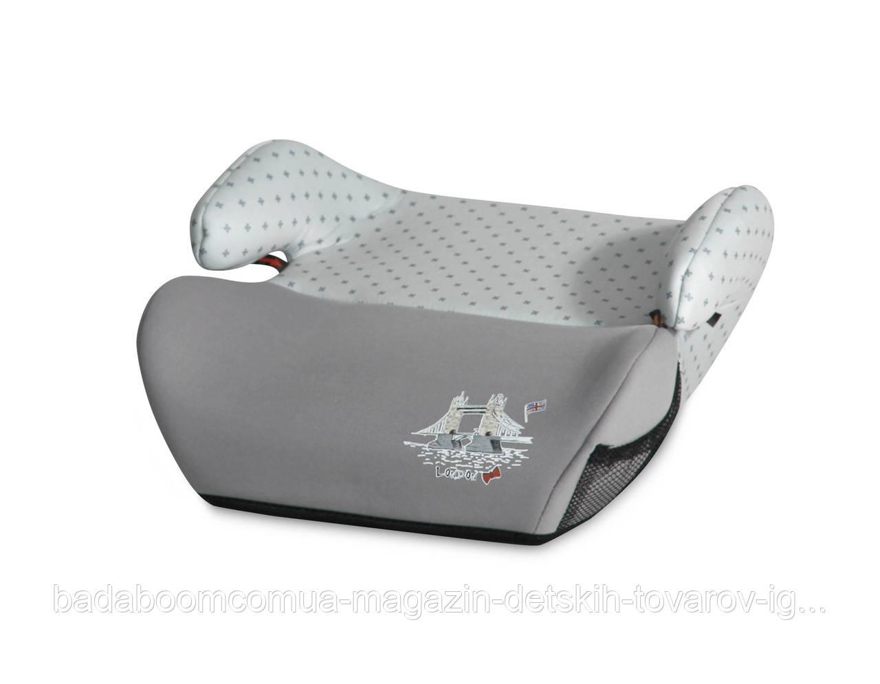 Бустер Lorelli Easy 2/3 (15-36kg) grey travelling