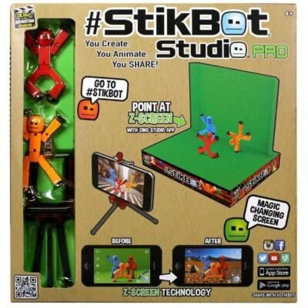 Игровой набор Stikbot S1 – СТУДИЯ Z-SCREEN для анимационного творчества (TST617)