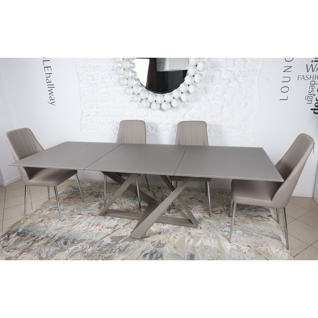 Fleetwood (Флитвуд) стол раскладной 160-240 см мокко
