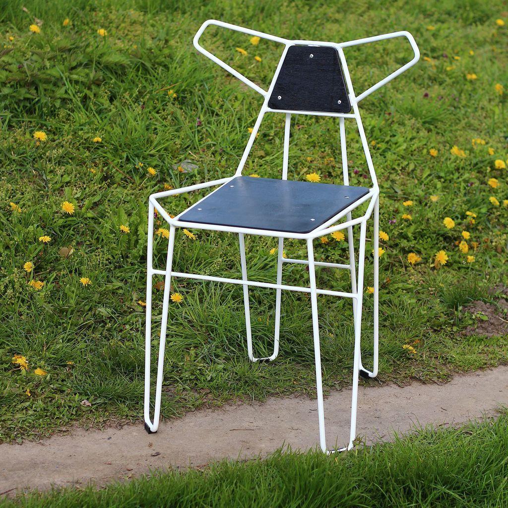 Fox (Фокс) стул металлический с фанерой