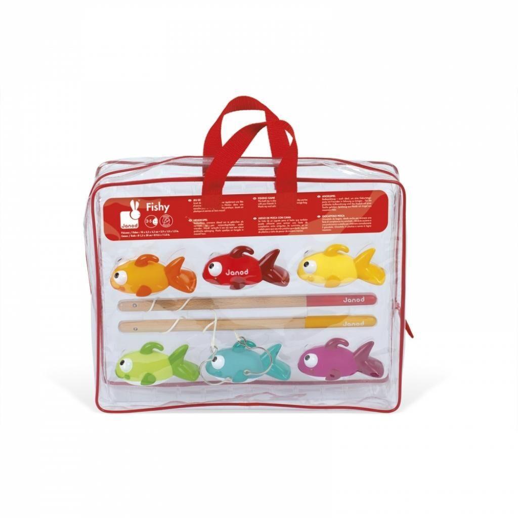 Игрушка для ванной Janod Рыбалка. Рыбки (J03247), фото 1
