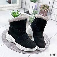 Ботинки женские Sirius черный , женская обувь
