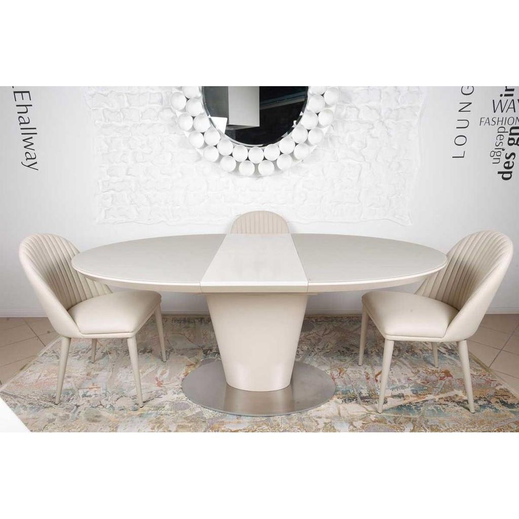 Georgia (Джорджия) стол раскладной 140-180 см капучино