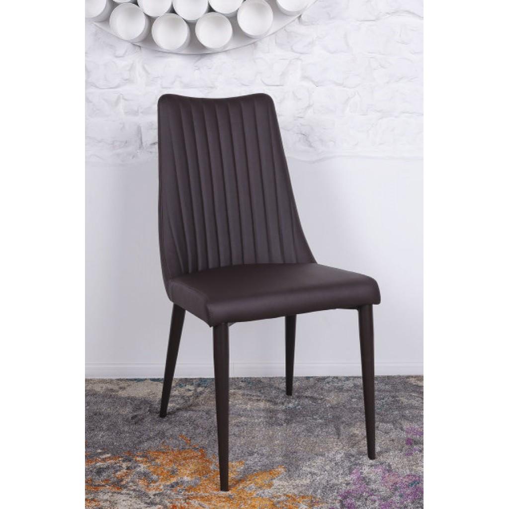 Hannover (Ганновер) стул кожзам коричневый