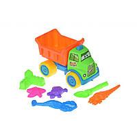 Игрушка для песка Same Toy с Машинкой 7 шт (HY-1303WUt)