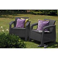 Набор садовой мебели Bahamas Duo Set из искусственного ротанга, фото 1