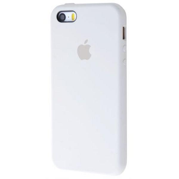 Панель Silicone Case для Apple iPhone 5/5S/SE Stone