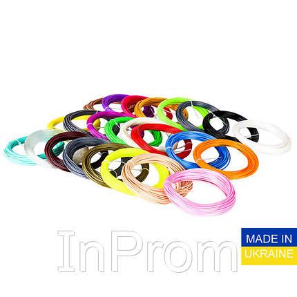 Набор пластика ABS для 3D ручек 240 метров (16 цветов по 15 метров), фото 2