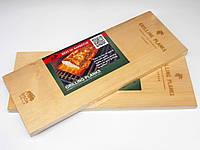 Кедровая доска для копчения BisonGrill  (2 шт)  30х15 см, фото 1