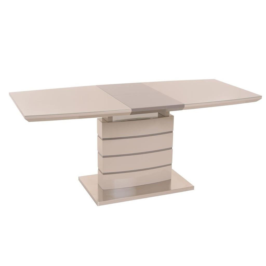 Kim S (Ким Эс) стол раскладной капучино+латте 120-160 см