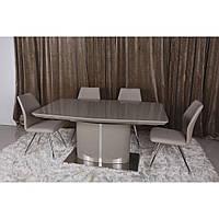 Lancaster (Ланкастер) стол раскладной 160-220 см мокко