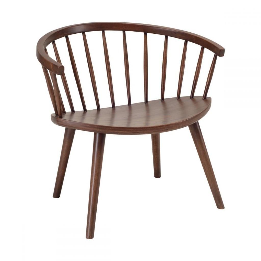 Moke Lounge (Моке Лаунж) стул деревянный коричневый