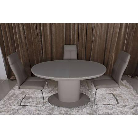 Orlando (Орландо) стол раскладной 140-180 см мокко, фото 2