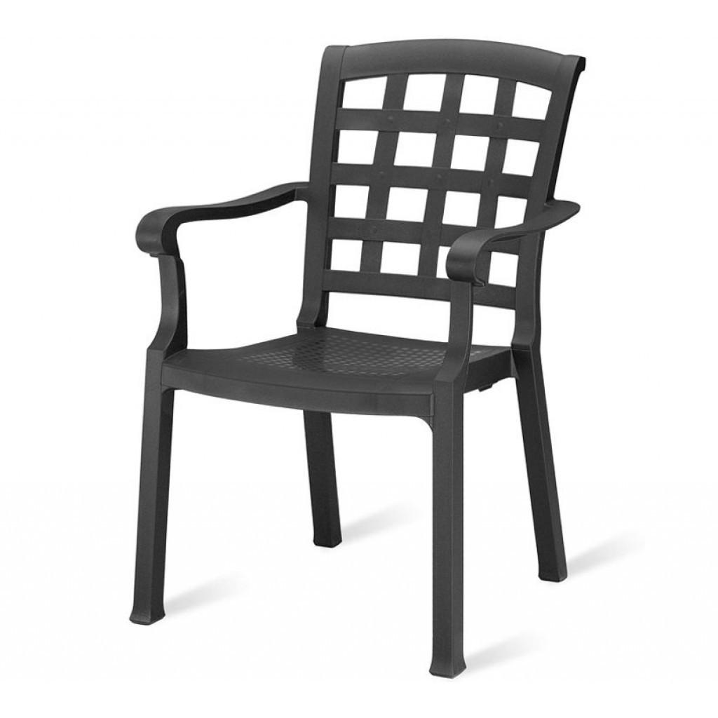 Pasha (Паша) кресло пластиковое антрацит