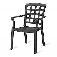 Pasha (Паша) кресло пластиковое антрацит, фото 1