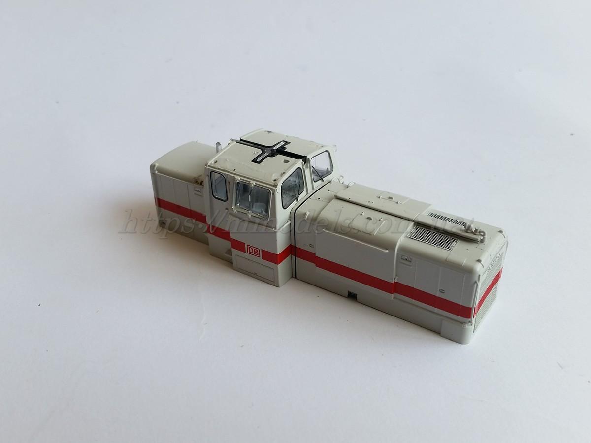 PIKO 52820 кузов модели маневрового тепловоза Diesellok 363 810 DB  / 1:87, фото 1