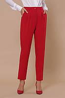 Красные брюки классического стиля:S M LXL