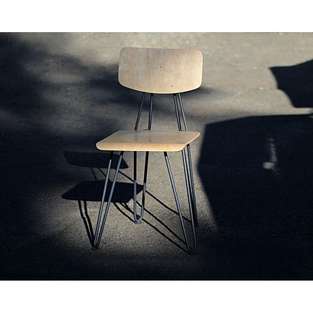Slavutich (Славутич) стул металлический с фанерой