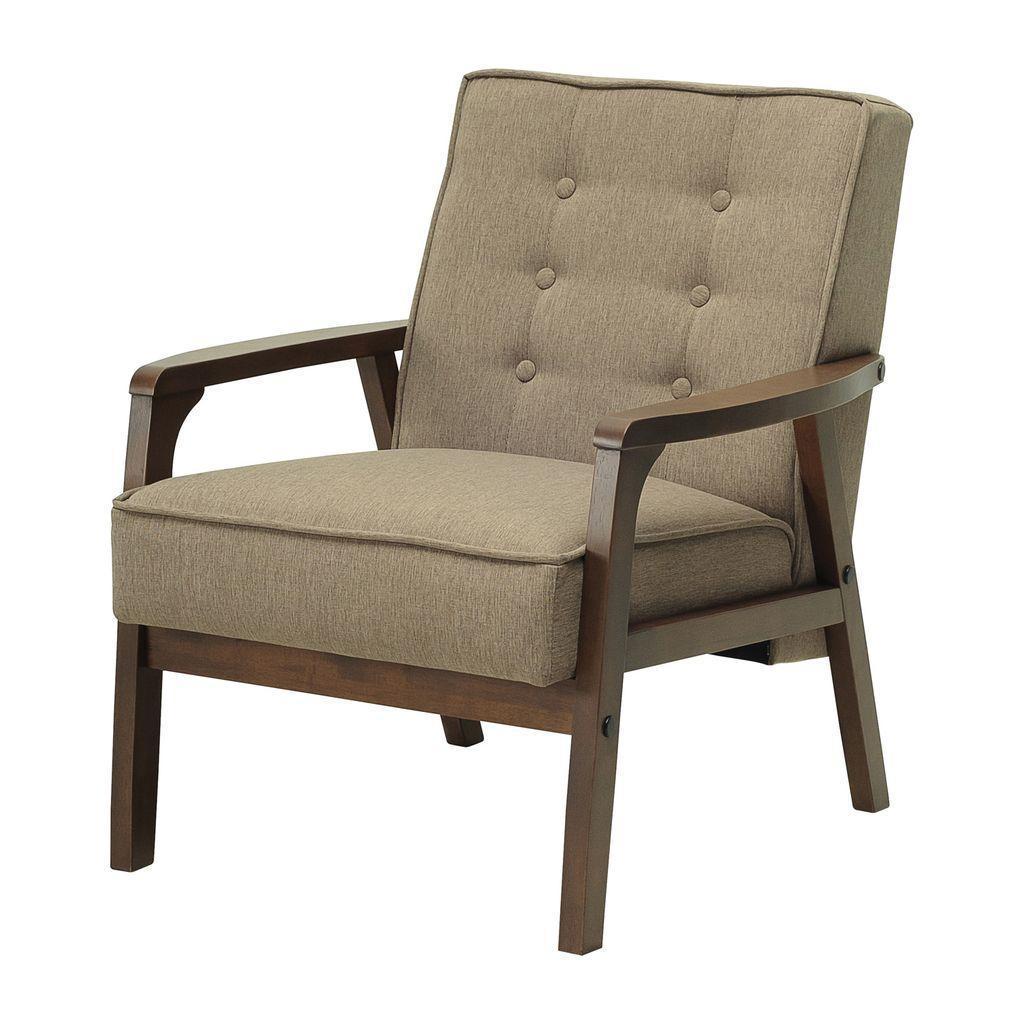 Taylor (Тэйлор) кресло текстиль коричневый
