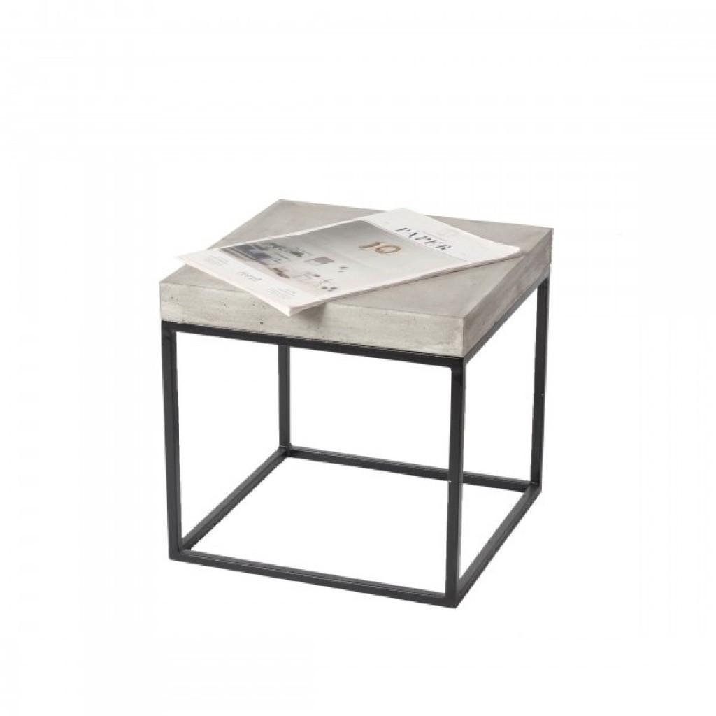 Structur (Структур) журнальный столик бетон