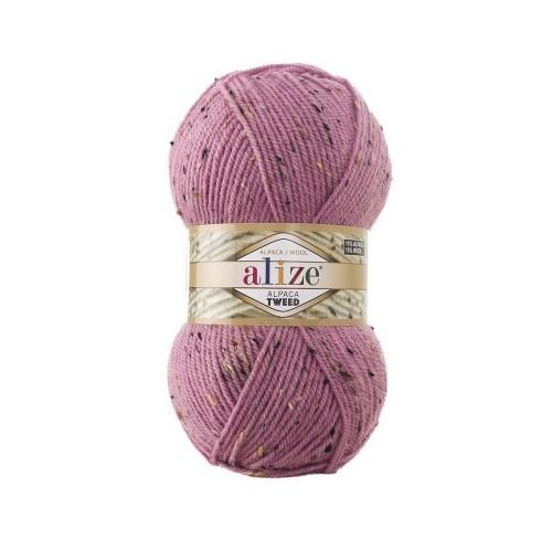 ALPACA ROYAL TWEED 269 розовый - 15% альпака, 15% шерсть, 5% вискоза, 65% акрил
