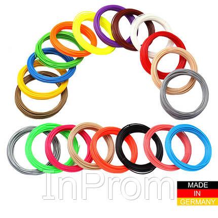 Набор пластика ABS+ для 3D ручек 480 метров (16 цветов по 30 метров), фото 2