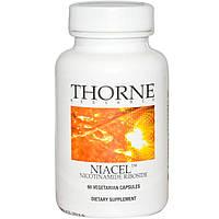 Thorne Research, Niacel, никотинамид рибозид, 60 капсул